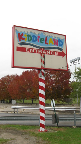 Chicago's Kiddieland Amusement Park. Melrose Park Illinois. Thursday, October 8th 2009 after the park had closed. by Eddie from Chicago