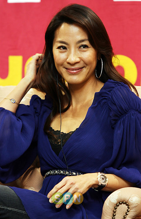 Michelle Yeoh at 12th PUSAN International Film Festival