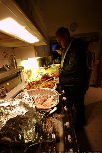 plating canadian thanksgiving dinner - _MG_6134