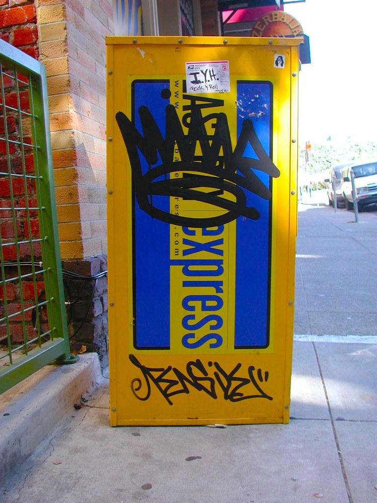 Mine Graffiti East Bay California.