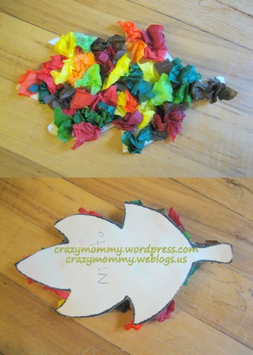 Simple Autumn Leaf Craft