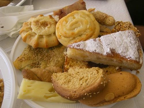 mnimosino food memorial service