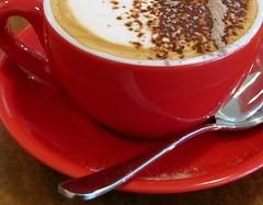 October 30 (VIRGO~63) Tags: red coffee cafe break drink beverage coffeeshop latte coffeebreak cappucino astoundingimage canonpowershotsx20is dontcallmeshron