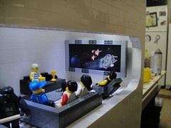 Finally got the TV fixed (brickplumber) Tags: starwars lego hoth starwarslego echobase