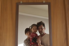 Family Shot (merlinmann) Tags: mirrorproject merlinmann madelinemann madmann hotdogsladies eleanormann 3manns