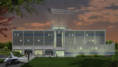 National Flight Academy (NFA) 2009, external rendering eye-level (divemasterking2000) Tags: summer camp station museum computer stem education artist technology artistic florida aviation air flight engineering science foundation adventure national math educational fl concept conceptual academy naval 2009 nas pensacola summercamp concepts nfa navalaviation pcola nasp naspensacola nnam rederings navalairstationpensacola navalaviationmuseum summeradventure nationalflightacademy namf navalaviationmuseumfoundation
