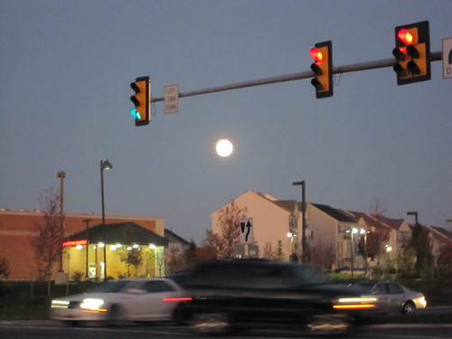 Moon over Ashburn
