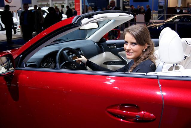 auto car automotive motor lexus iaa automobil frankfurtmotorshow lexusis250c iaa2009