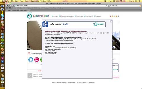 RATP Homepage