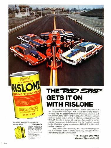 msds rislone zinc oil additive