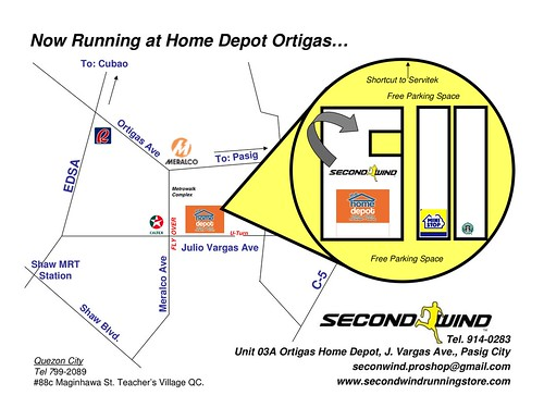 Running Starts Here-Secondwind Map.