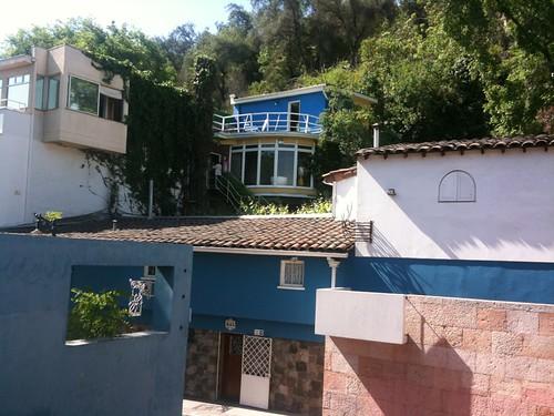 Maison de Pablo Neruda à Santiago de Chile