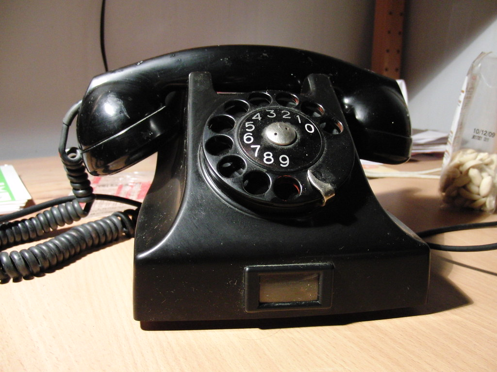 LM Ericsson (brosun) Tags: old black vintage phone sweden ericsson telephone  retro ring