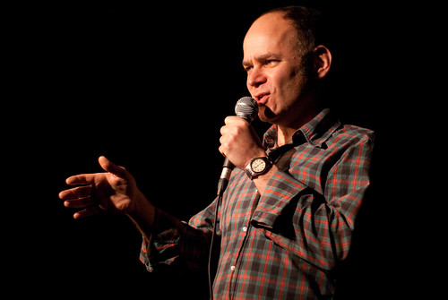Todd Barry in Toronto. Photo by Sharilyn Johnson