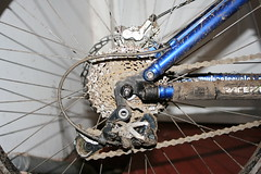 dirty ride (markbailey2010) Tags: camera santacruz blur bike canon fun cycling cool flickr mud mountainbike dirty explore shit xc freeride crud bycicle cack 40d