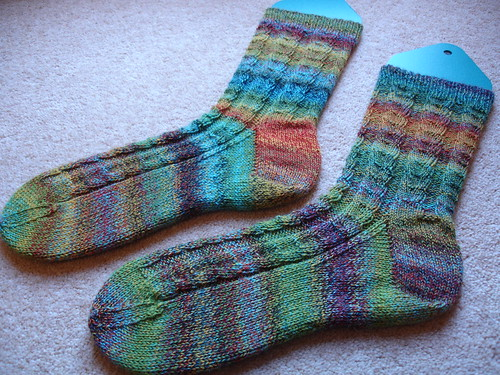 November Primavera socks 001