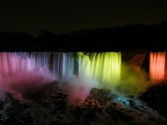 American Falls (BMartin Images) Tags: niagarafalls americanfalls niagarafallsatnight