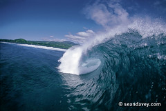 A water view of a tubing wave at Maete Raaper in tahiti. (Sean Davey Photography) Tags: pictures seascape color green nature horizontal glitter photography shiny energy surf glow power wave alternativeenergy tropical strong dreamy curl tahiti swell glassy shimmer whitewash greenenergy frenchpolynesia greenpower oceanwave seawave oceanswell seandavey oceanpower seaswell photographyfineart finephotographyart curlingwave maeteraaper wavesenergy seawaveenergy oceanenergy oceanwavepictures seandaveyphotography