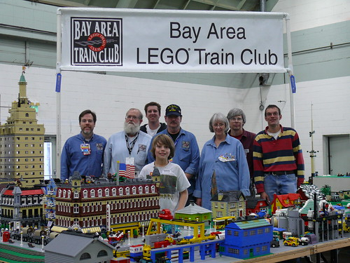 BayLTC at Pleasanton train show