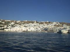 Tipico pueblo griego 2. (Media Mitad) Tags: costa blanco mar blog pueblo grecia vista gran casas twitter tipicas mediamitad