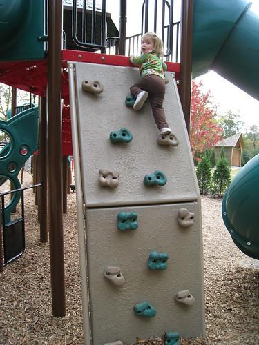 Climbing Ellie