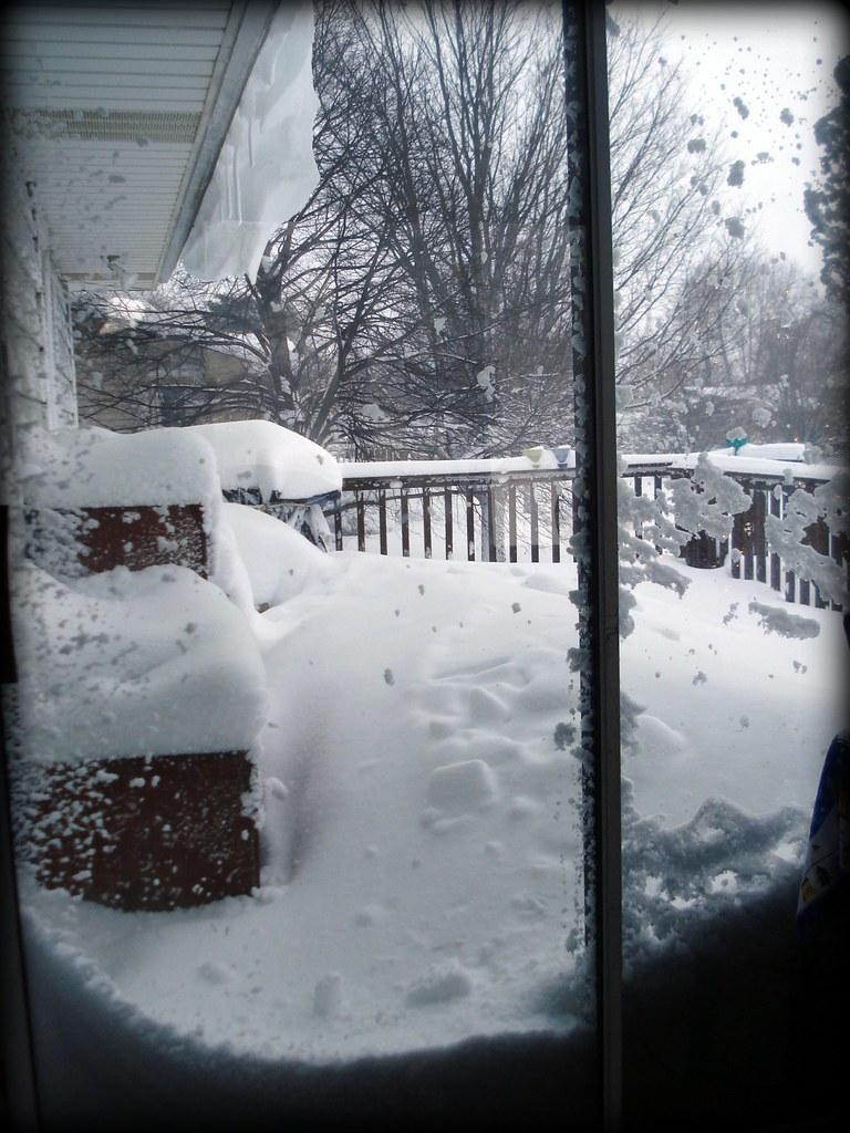 Snowstorm - deck