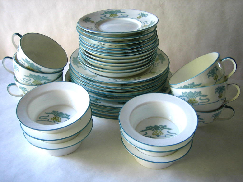 Foley Art China - Peacock Pottery
