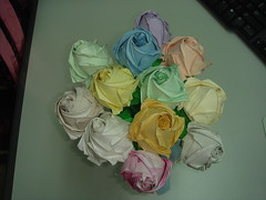 Kawasaki Rose -  2008 (The Gift of Gifts) Tags: flower art leaves rose paper stem origami happiness gift thankful grateful kindness kawasaki sincerity kawasakirose paperrose diamondrose origamiflower origamirose rosasdepapel  livrerose  happinessrose papierrose giftofgifts giyhng giftofgift giftofgiftsrose  rosadicarta piparardaigh roseenpapier papierstieg papprrose   paprovre papierrosen    rosedicarta  kertasmawar katgller  papirrua paprrzsa  letrrose raamatrose piparrose    cartearose rose karatasirose papperrose papurrose