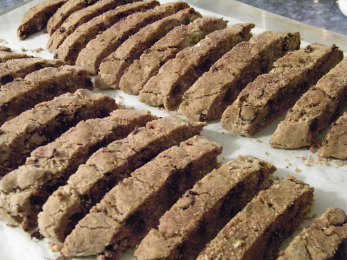 Corey's Chocolate & Almond Biscotti