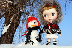 Marigold  and the snowman