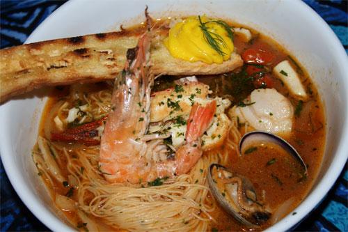 Bouillabaisse at Mama's Fish Hosue