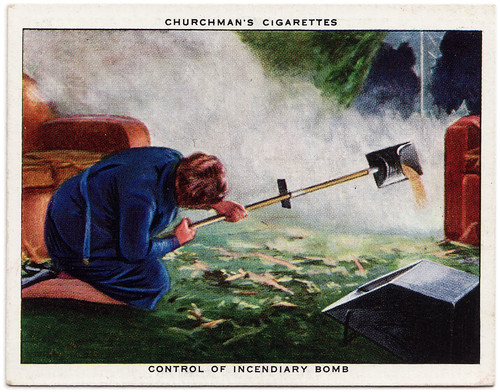 Control of Incendiary Bomb