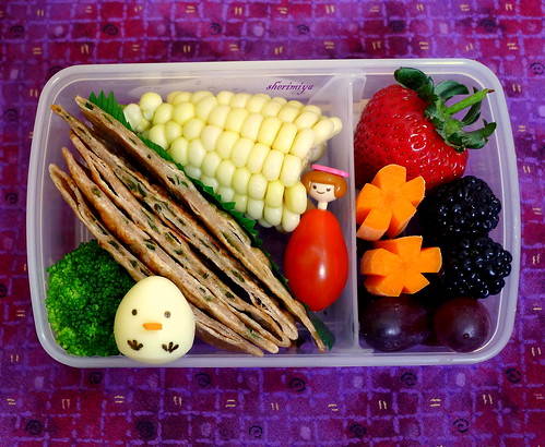 Scallion Pancake Bento by sherimiya ♥