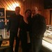 Brigitte Zarie,Bass Player Neil Jason, Don Harris at Avatar Studio last night NY recording Brigitte's new cd.