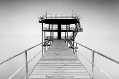 Floating Bridge (A.alFoudry) Tags: sunset sea bw white black beach clouds speed canon eos mirror long exposure slow mark full frame shutter 5d kuwait heavy ef kuwaiti q8 abdullah عبدالله mark2 1635mm الكويت كويت || f28l kuw q80 q8city alfoudry الفودري foudryphotocom mark|| 5d|| canoneos5d|| mk|| f28l||