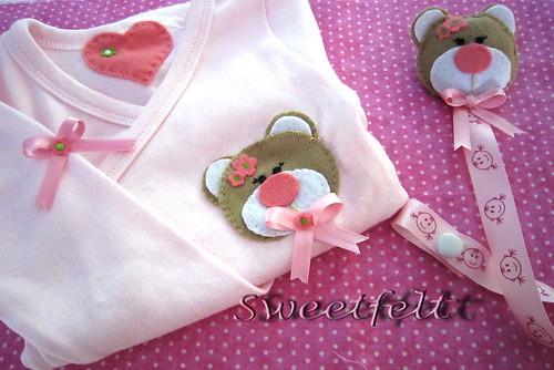 ♥♥♥ Para bébés fofinhas... by sweetfelt \ ideias em feltro