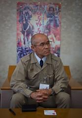Mayor of Minamisoma, Mr. Katsunobu Sakurai - 1034