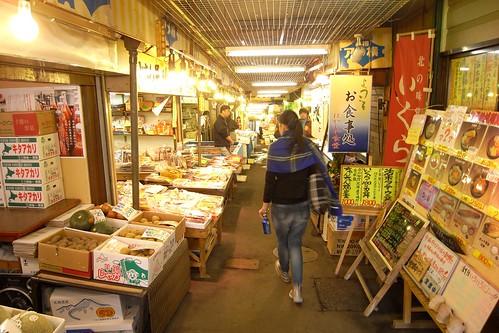 小樽三角魚市場
