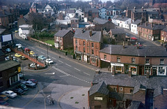 img349 (foundin_a_attic) Tags: aerial view town altrincham manchester unitedkingdom stanfordstreet shops storefronts