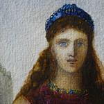 MOREAU Gustave - Hélène sur les Murs de Troie (drawings, dessin, disegno-Louvre RF32135) - Detail 17 thumbnail