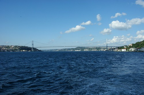 Bosphorus, between Asia and Europe
