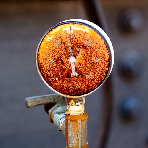 Alameda: rusty dial 2
