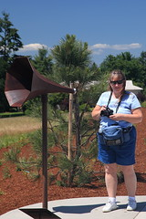 Bird Listening Station (SunCat) Tags: park woman mountain nature oregon friend girlfriend all photographer bbw spouse hills cooper wife debbie sweetheart lover mate companion pnw 2009 aloha tualatin soulmate confidante so eoshe