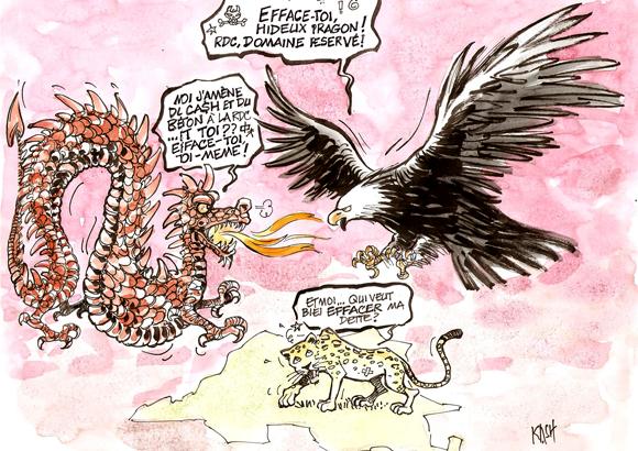 La RDC terrain de combat entre l'occident et la Chine
