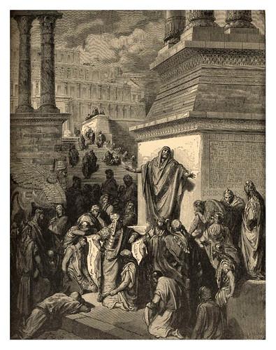 011-Jonas llamando a Ninive al arrepentimiento-Gustave Doré