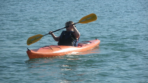 kayaking on Lake Wallon by you.