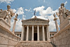 Enter the Academy (macropoulos) Tags: architecture facade geotagged topf50 500v20f columns statues athens greece 500v50f marble socrates academy athena apollo plato canonef2470mmf28lusm pediment gettyimages neoclassic canoneos5d 1500v60f 1000v40f 30faves30comments300views academyofathens ionicorder geo:lat=37979906 geo:lon=23733768 gettyimages:dateadded=20110721