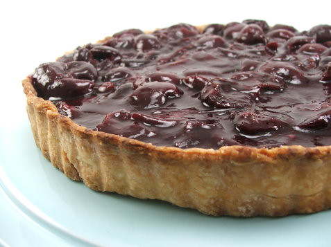 Cherry Cheese Tart