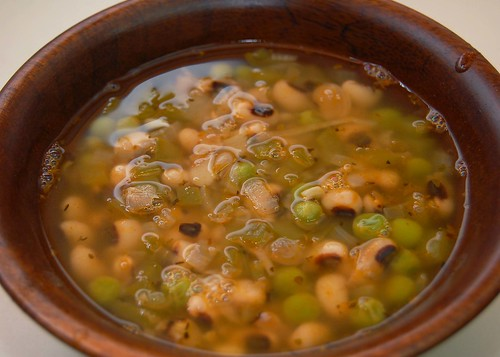 Black-Eyed Pea Creole Soup