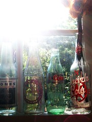 bottles (buttermilk*blue) Tags: glass bottles coke cocacola jonessoda